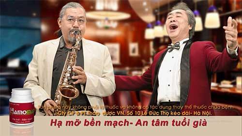 Ns Quyen van minh va NSND Quang tho