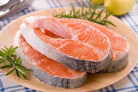 cá hồi ngăn ngừa cao huyết áp