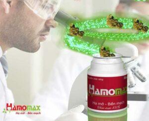 Hamomax được nghiên cứu bài bản